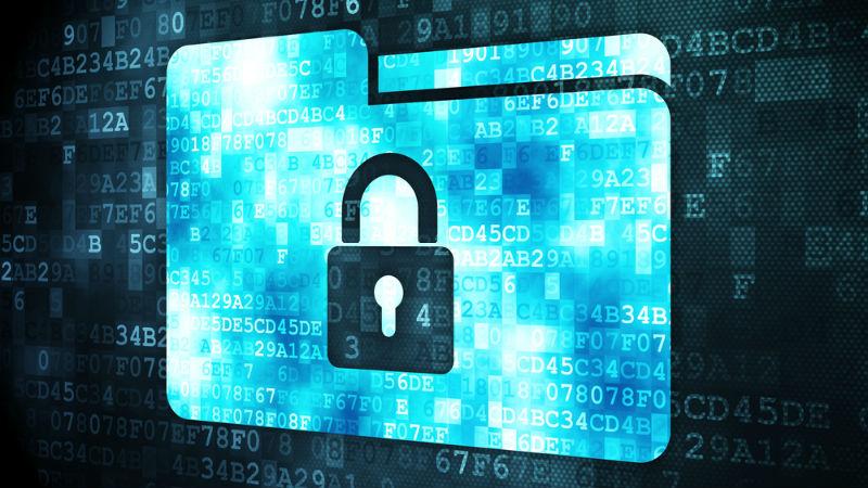 Encryption stock image